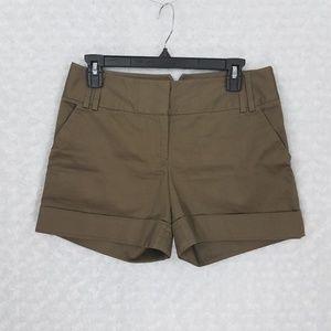 Express Brown Shorts Size 4